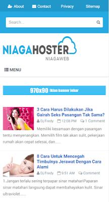 Download template Simplify 3 Resfonsive Blogger Terbaru