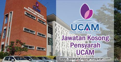 Jawatan Kosong Pensyarah Kolej Universiti Agrosains Malaysia Ucam Jawatan Kosong Pensyarah
