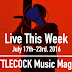 Live This Week: July 17th-23rd, 2016