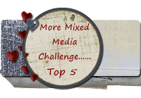 Top 5 More Mixed Media Bright Challenge