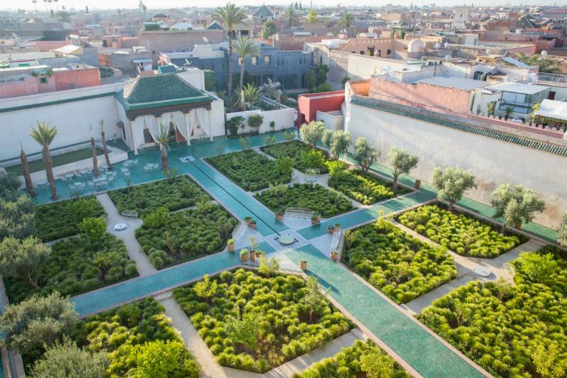 Le Jardin Secret, jardín islámico