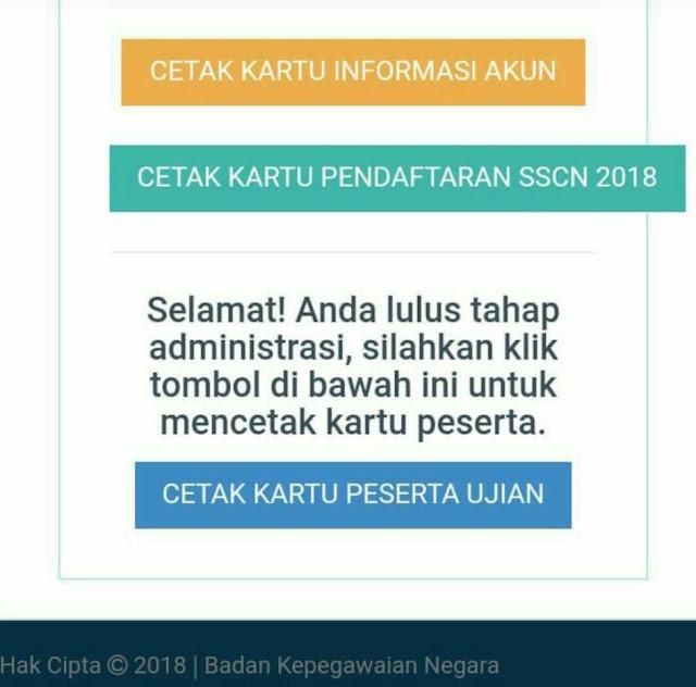 cek status lulus administrasi cpns 2018