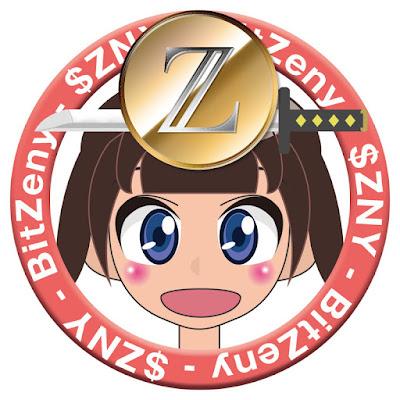 BitZeny(ビットゼニー)/$ZNY応援リング女の子