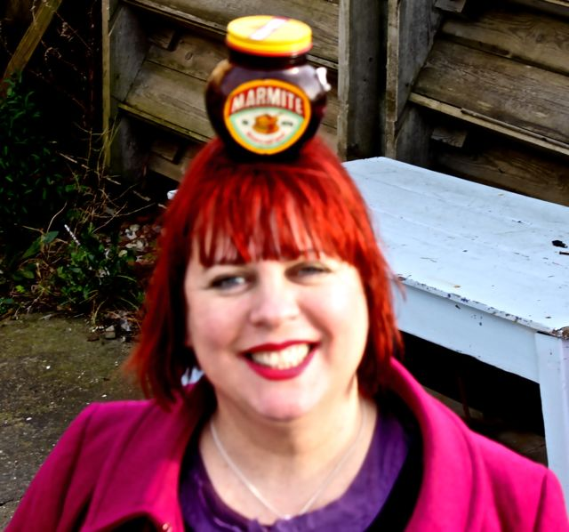 msmarmitelover drunk with Marmite pot