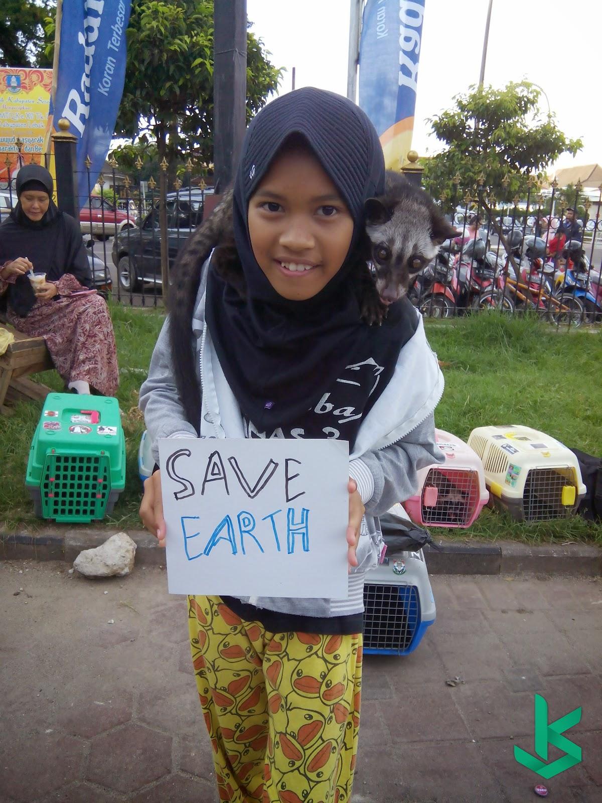 Komunitas Pecinta Musang Earth Hour SERANG 2015 - 28 Maret 2015