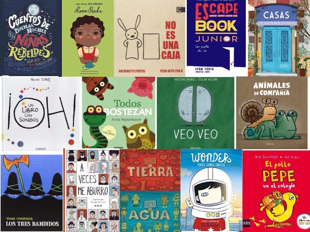cuentos y albumes ilustrados para regalar a los niños estas navidades