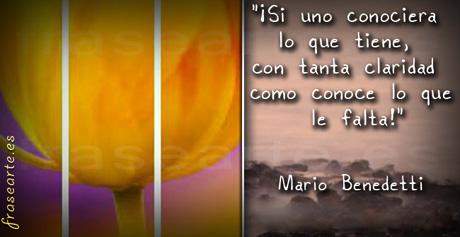 Citas célebres de Mario Benedetti