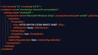 Các bước tạo tệp cấu hình cài đặt Windows 10 tự động