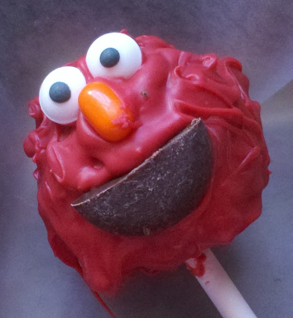 Karen' Quilts Crows And Cardinals Elmo Cake Pops