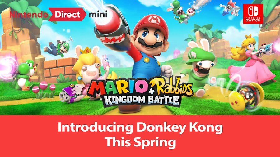 mario rabbids kingdom battle donkey kong