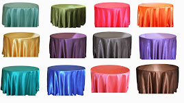 ROUND SATIN LINEN FOR SALE