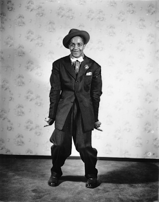 Zoot Suit Wearer, 1930s Courtesy mortaljourney.com