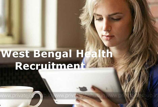 West Bengal Health Recruitment