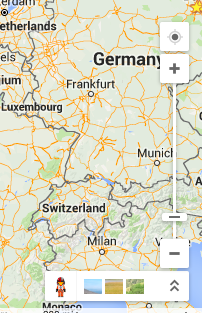 Show Zoom Slider In Google Maps - Germany map google