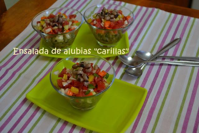 """ENSALADA DE ALUBIAS """"CARILLA"""""""