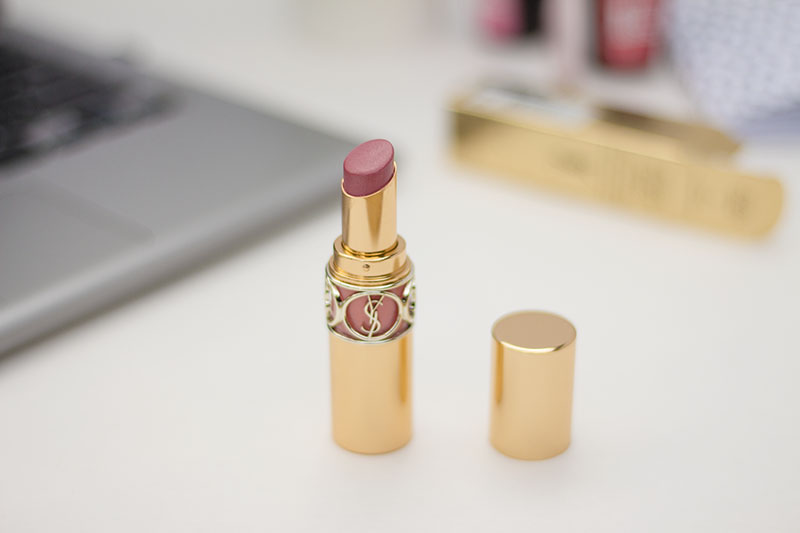 ysl rouge volupte shine oil in stick lipstick 08 pink in confidence
