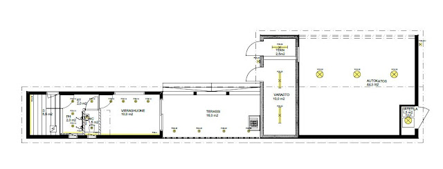 outhouse / garage lighting plan