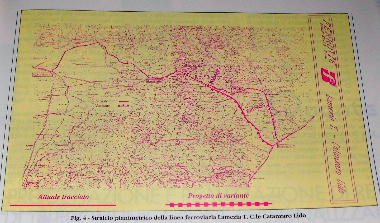 Cartina Della Rete Ferroviaria Italiana