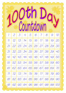 Countdown calendar chart new calendar template site for Countdown chart template