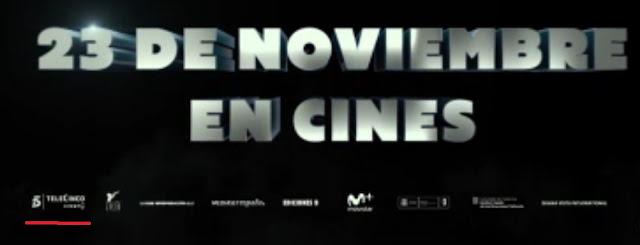 Fotograma de Superlópez estreno 23 de noviembre