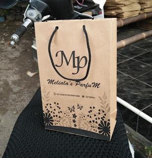 bikin paper bag untuk isi parfum