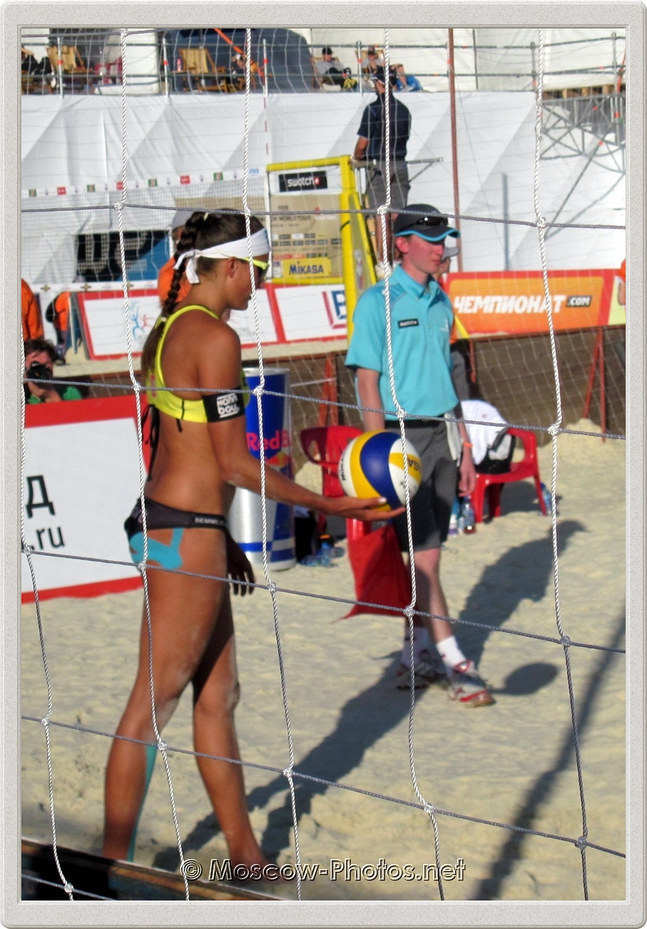 Ilka Semmler (GER) Beach Volleyball 2012