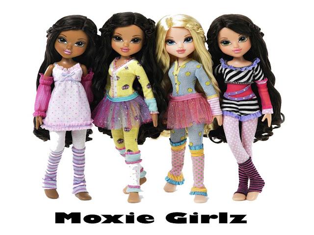Mewarnai gambar boneka Moxie Girlz