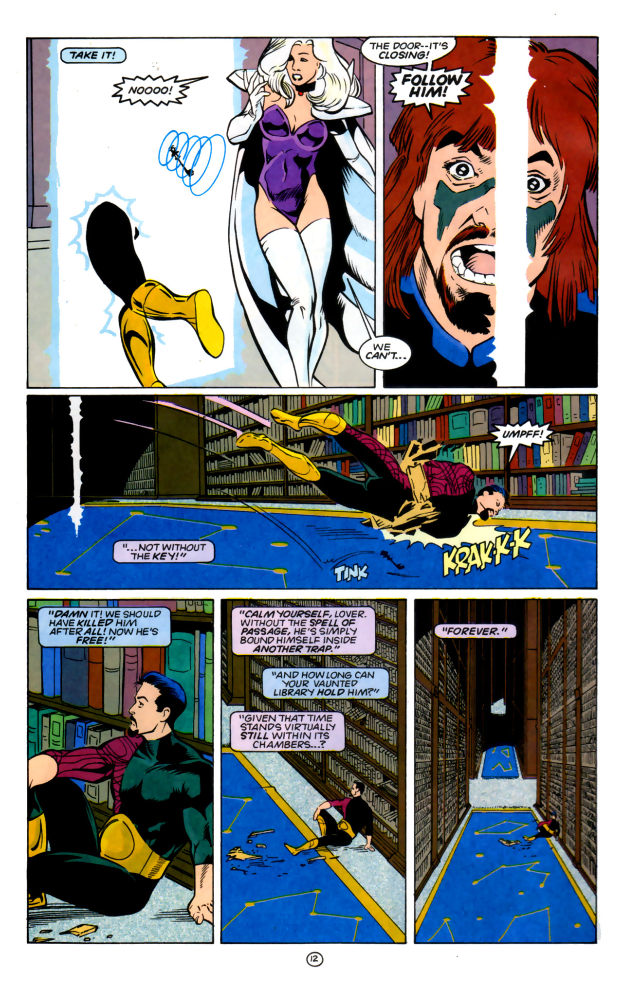 Legion of Super-Heroes (1989) 60 Page 12