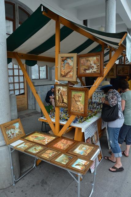 Market Ljubljana art