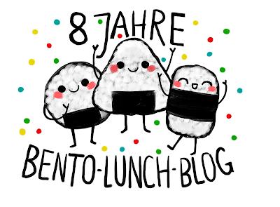 8 Jahre Bento Lunch Blog, große Kochrunde #3