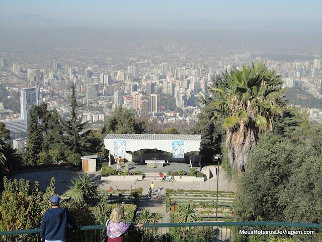 Altar do santuário do Cerro San Cristóbal