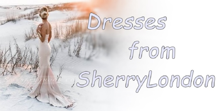 DRESSES from SHERRY LONDON