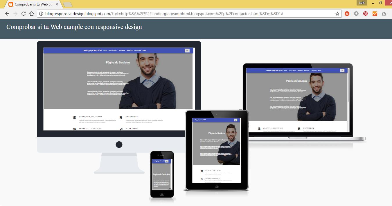 Landing page Amp HTML en Blogger Tutorial
