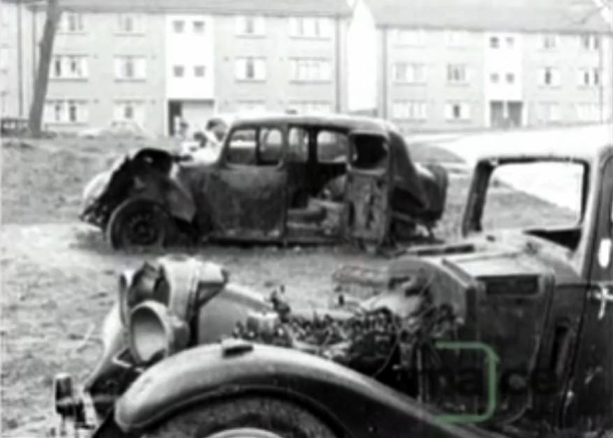Northfield Uk Dumped 1940 S Cars Taysfield Road