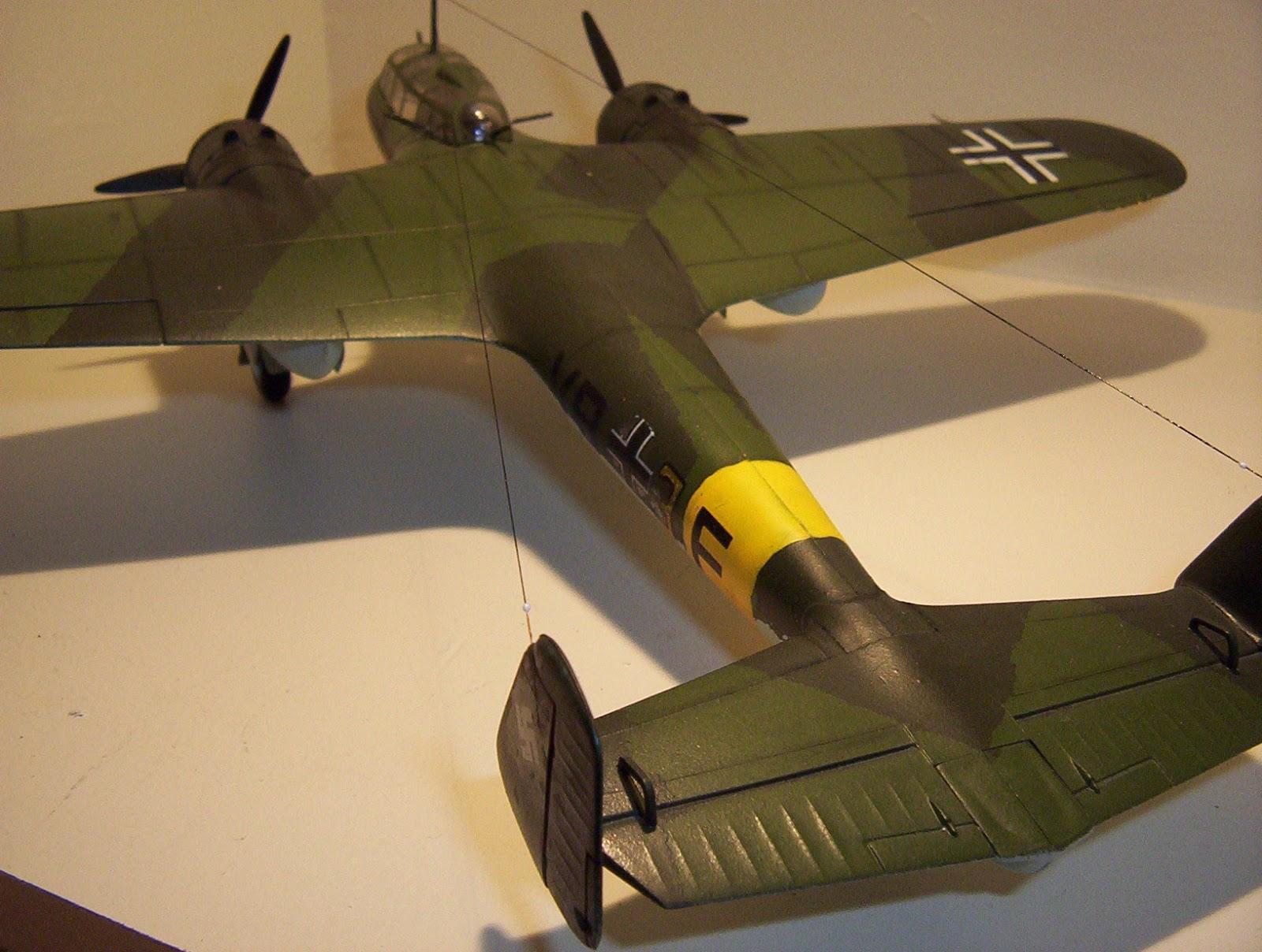 Scale Model Hobby Dornier Do17z The Flying Pencil 1 72 Scale