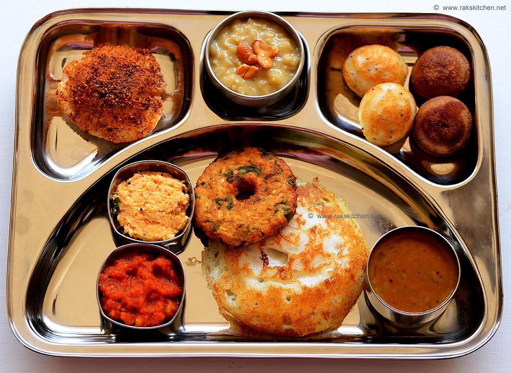 south Indian brunch menu