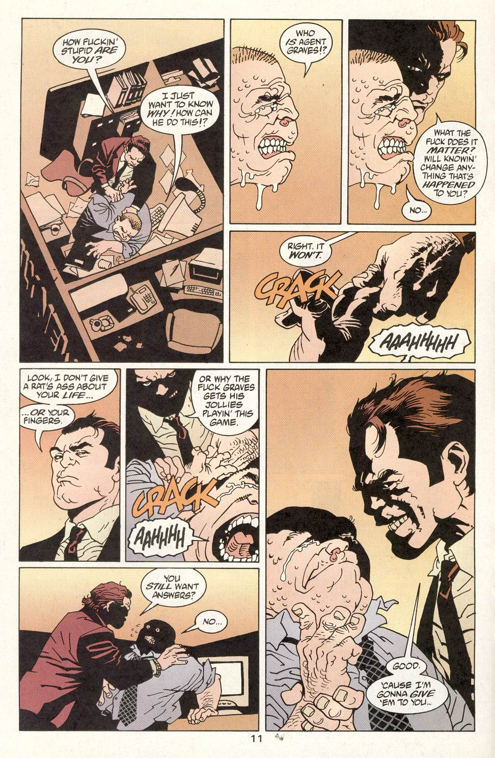 Read online 100 Bullets comic -  Issue #14 - 13
