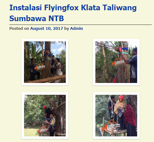 PEMBANGUNAN FLYING FOX NTB