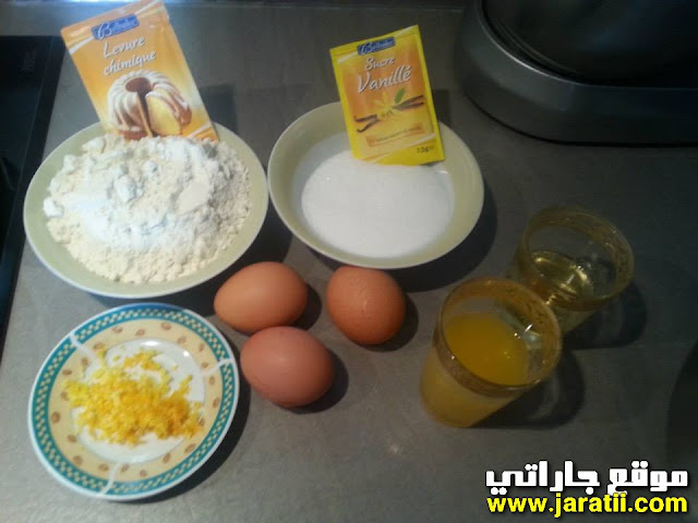 طريقة عمل كيكة البرتقال السهلة