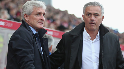 Mourinho phớt lờ sự châm chọc của Mark Hughes