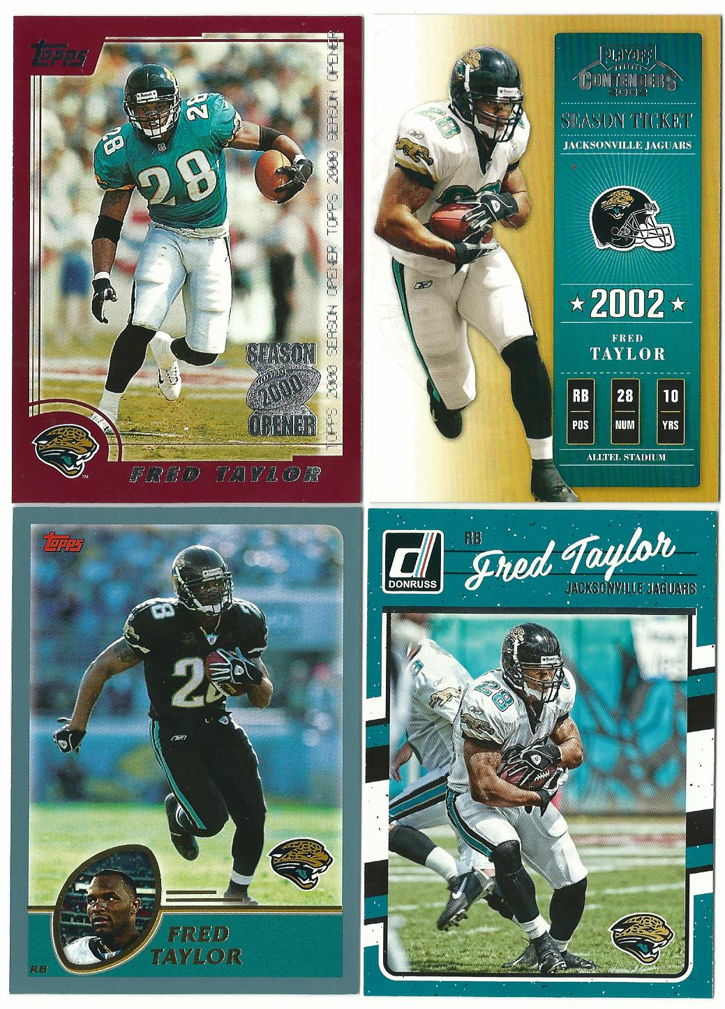286940b0 Fred Taylor is the only Jaguar in my star player box - and I'm not certain  he should be considered a