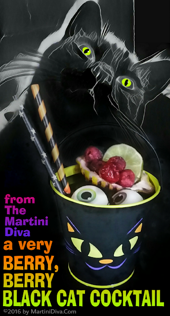 Black Cat Martini Recipe