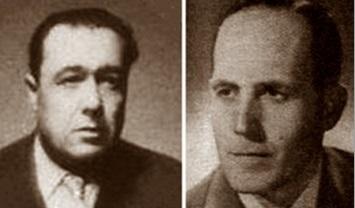 Los ajedrecistas Pere Mas y Àngel Ribera