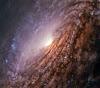 चमकदार दिल वाली एक आकाशगंगा