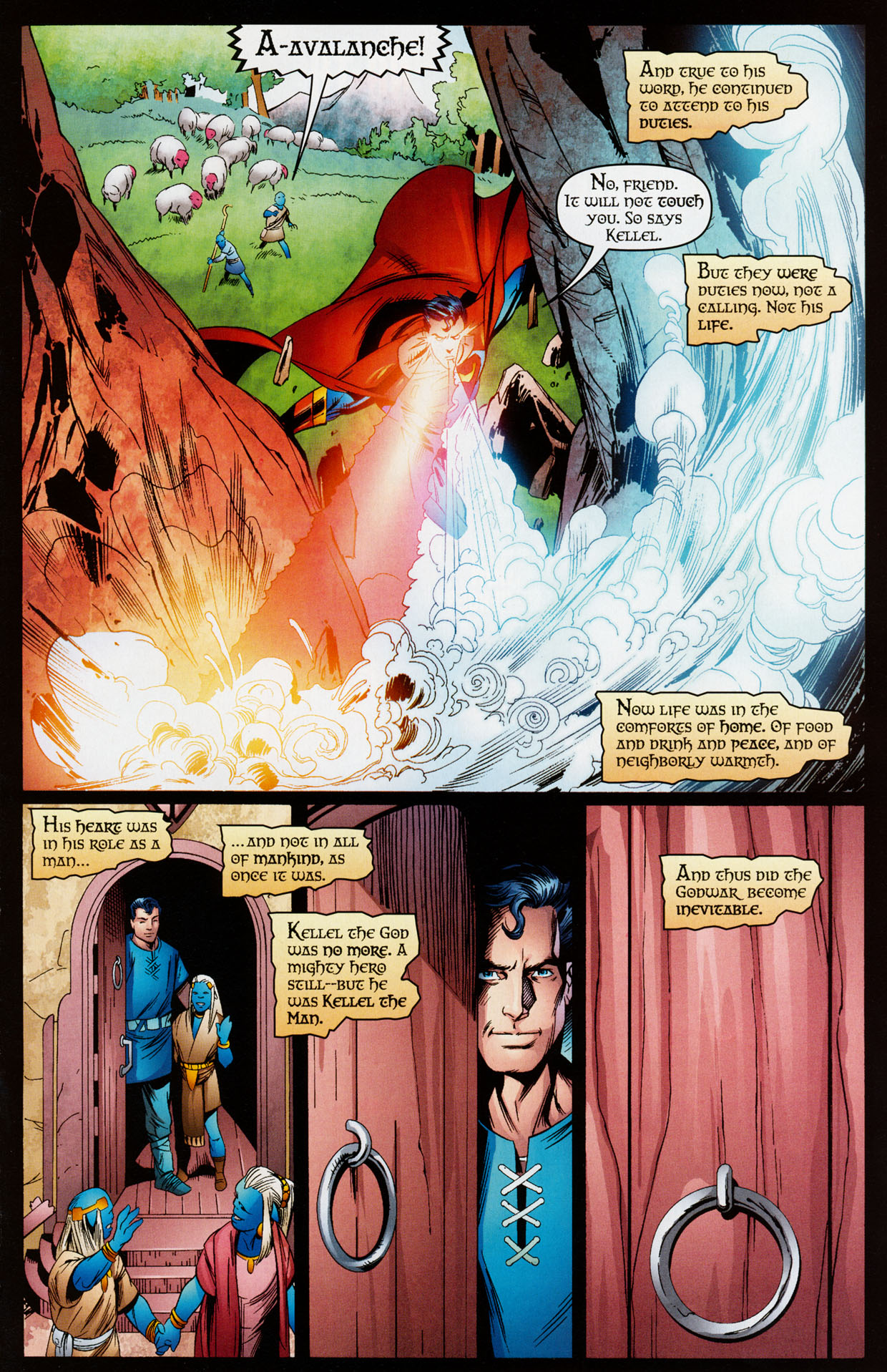 Read online Trinity (2008) comic -  Issue #35 - 28