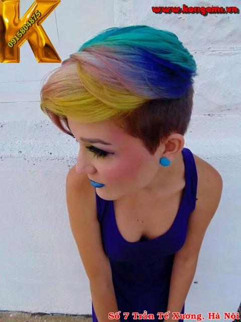 hair color, 3d, galaxy,