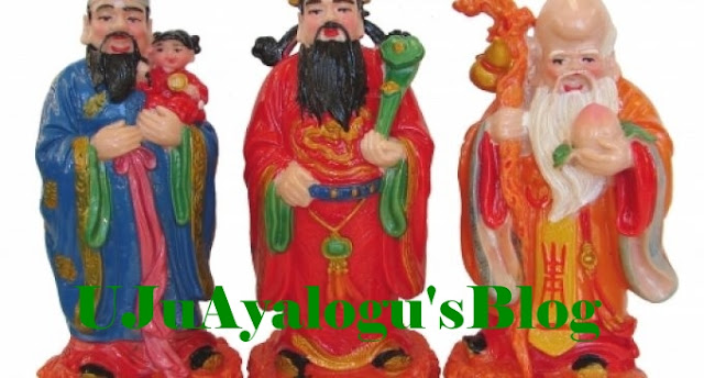 See 3 Chinese gods & Their Meaning