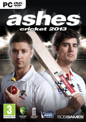 Ashes Cricket 2013 Full PC Game Download COVER PC