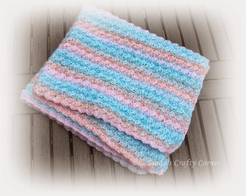 Free Crochet Patterns For Baby Pram Blankets : .Lindas Crafty Corner: Bubbles Baby Blanket