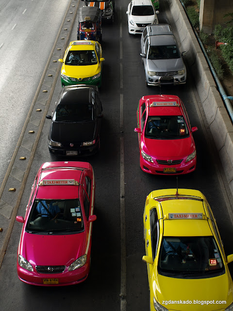 Bangkok - Taksówki